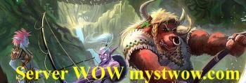 Фан сервер WoW Myst PvP Fun Myst с рисовками и бесплатный