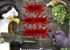 Игра пингвины vs зомби и винкс Хэллоуни картинки