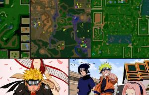 ������ warcraft 3 ����� � ���� ������� (Naruto Maps)