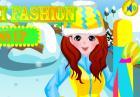 Игра одеваемся для катание на лыжах и WINX арты