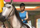 Игра спорт на коне в 3D и артики winx