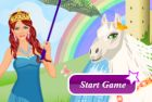 Волшебница и Лошадка игра одевалка и винкс артики