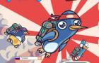 Игра Пингвины супер герои и winx арты