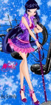 Арты Winx нарисованные в фотошопе и игра одень девочку!