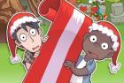 Игра гонка на Рождественских санях и winx конкурс