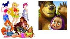 Маша и медведь смотрите онлнай на винкс ланд, мои любимые серии!