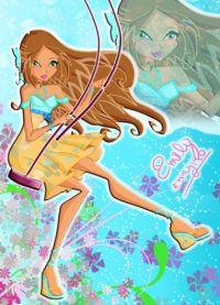 Дочка Флоры Винкс для 5 сезона и игра одень принцессу цветов!